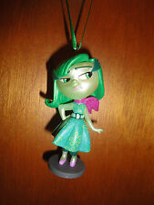DISNEY PIXAR INSIDE OUT CUSTOM MADE DISGUST PVC CHRISTMAS ORNAMENT