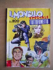 IL MONELLO n°13 1985 Numero Raro Speciale Tutto Fumetto  [G431]