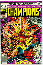 ♥♥♥♥ THE CHAMPIONS • Issue 8 • Marvel Comics