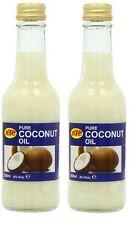 Olio Di Cocco 100% Puro ,2 X 250 ml Uso Alimentare, Brucia Grassi!