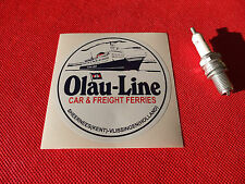 Olau Line 10cm Sticker car ferries volvo f89 scania 111 Trucking