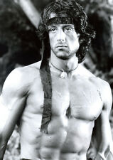Rambo Sylvester Stallone Awesome BW POSTER