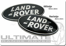 LAND ROVER DISCO DISCOVERY 4 SUPERCHARGED GRILLE GRILL & REAR BLACK BADGE SET