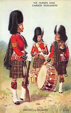 BR64724 the queens own cameron highlanders   army military militaria england