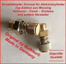 Schalldämpfer regelbar Steuerventil von Corghi Hofmann Reifenmontiermaschine 02
