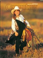 1999 Country Magazine: Young Cowgirl/Fall Colors