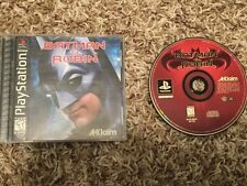 BATMAN & ROBIN SONY PLAYSTATION PS1 COMPLETE TESTED WORKS QUICK SHIP!
