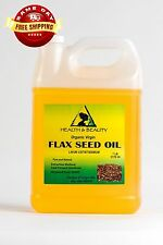 FLAX SEED OIL ORGANIC by H&B Oils Center UNREFINED COLD PRESSED PURE 7 LB