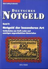 Gietl Deutsches Notgeld Band 9 special issues Germany speciaal noodgeld