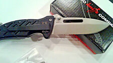 NIB Ontario OKC 8761 XR-1 MADE IN ITALY Rescue Tactical Folding Knife Black