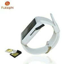 Bluetooth Android Smart Mobile Phone U9 SIM Wrist Watch - White