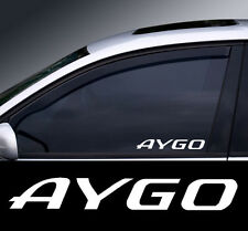 2 x Toyoto Aygo Window Decal Sticker Graphic *Colour Choice*