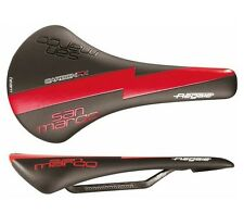 Selle San Marco Regale Carbon FX Racing Team Saddle Black Red New