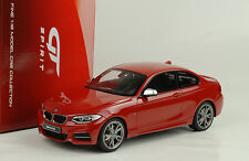 2014 BMW m235i f22 Coupe red rouge 1:18 GT spirit