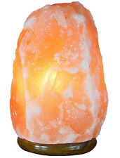 7-8 Inch 5-8 Lbs Natural Himalayan Rock Salt Lamp Air Purifier with Dimmer Cord
