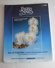 PRECIOUS MOMENTS Set of 4 Sachets Decoration Craft