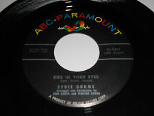 """EDYIE GORME Your Kisses Kill Me 45 7"""" Kiss In Your Eyes 9817 ABC Paramount"""