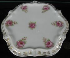 Antique Hot Plate Rose Gold Trim C T Germany