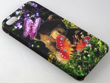 TOUCH FEEL AND NIGHT GLOW HARD BACK CASE COVER FOR APPLE IPHONE 5 / 5G / 5S