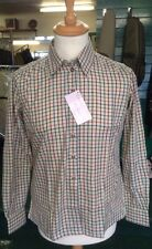 Ladies Checked Shirt Equestrian Or Casual Fitted rrp £40 Half Price Sale Size 16