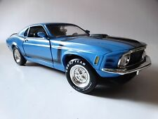 Ertl American Muscle 1970 Ford Boss 302 Mustang 1:18 Scale Diecast Model Car