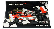 Minichamps McLaren M23 GP 1976 japonés campeón del mundo-James Hunt 1/43 Escala