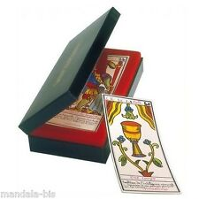 Grand TAROT BELLINE en Coffret Tranche Or (Cartes, divination, Cards)