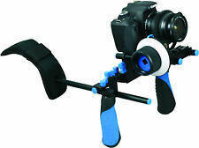 NEW Pro DSLR RL-02 Hand and Shoulder Video Rig with Matte box and follow focus