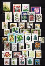 101380/ Blumen und Pflanzen - schönes Lot - o - nichts gerechnet - siehe scan