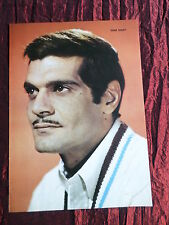 OMAR SHARIF - FILM STAR - 1 PAGE  PICTURE- CLIPPING/CUTTING