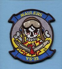 VS-32 MAULERS US NAVY LOCKHEED S-3 VIKING ANTI SUBMARINE Squadron Jacket Patch