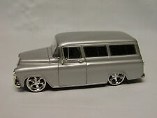 "Silver 1/24 1957 Chevy Suburban Dub City ""OLDSKOOL"" from Jada"