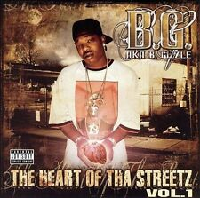 B.G. aka B. Gizzle - Heart Of Tha Streetz Volume 1 (CD)