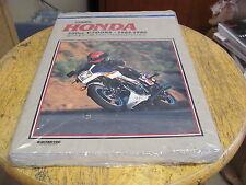 NOS OEM Clymer Honda 500cc V Fours 1984-1986 Service Repair  Maintenance New