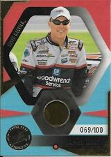 2002 Press Pass Optima #7 Kevin Harvick Race Used Lugnut Relic #069/100