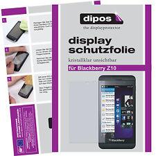 2x Blackberry Z10 Protector de Pantalla protectores transparente