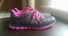 COTTON ON RUBI SHOES black pink sneakers mesh faux leather sports luxe dupe