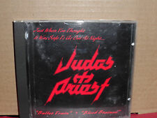 Judas Priest - Bullet Train / Blood Stained CD VG condition Rare METAL