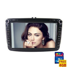 Bluetooth Radio For Volkswagen 8-inch 2 Din TFT Screen In-Dash Car DVD Player