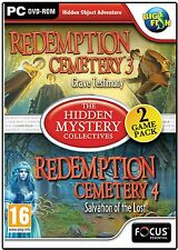 Redemption Cemetery SALVATION OF THE LOST + GRAVE TESTIMONY Hidden Object PC NEW