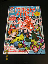 Forever People #  4 September 1971 Jack Kirby Desaad Fourth World DC Comics