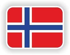 1x Norvège norvégien blason autocollant pare-chocs AUTOCOLLANT Aufkleber pegatina pavillon