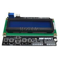 1PCS Practical L1602 LCD Board Keypad Shield Blue Backlight For Arduino Robot MO