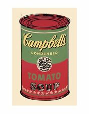 ANDY WARHOL - Campbell's Soup Can, 1965 (Green & Red) - GICLEE ART PRINT 40x60