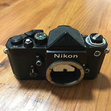 Nikon F2 Camera Body Black with DE-1 Eyelevel Prism Finder