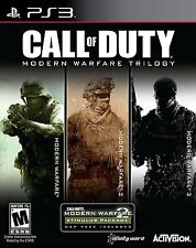 Call of Duty Modern Warfare 1 2 3 Trilogy PS3 Brand New Sealed Collection