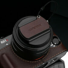 GARIZ Leather Lens Capfix Sony RX1 RX1RII XA-CFRX1BR Brown