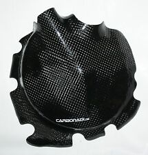 KAWASAKI ZX10R 04-05 CARBON  KUPPLUNGSDECKEL PROTECTOR CLUTSH COVER CARBONE NEW