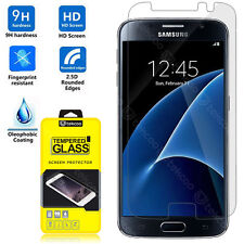 HD Clear Premium Tempered Glass Film Screen Protector For Samsung Galaxy S7 VII