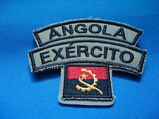 ANGOLA EXÉRCITO MILITARY FLAG PATCH 90mm